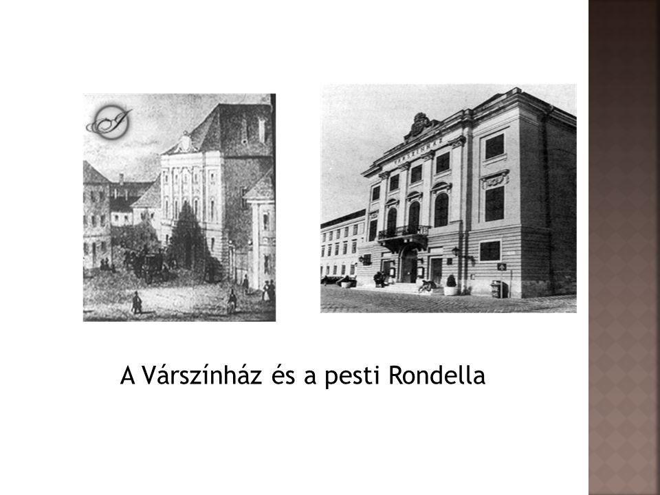 A Várszínház és a pesti Rondella