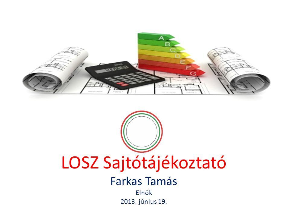 LOSZ Sajtótájékoztató Farkas Tamás Elnök 2013. június 19.
