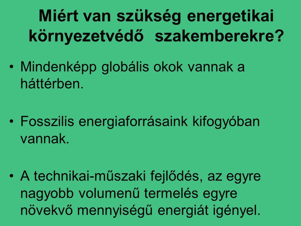 Miért van szükség energetikai környezetvédő szakemberekre