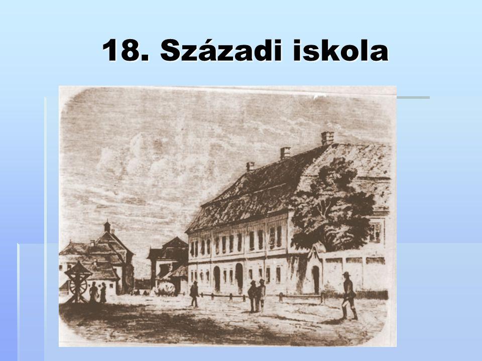 18. Századi iskola