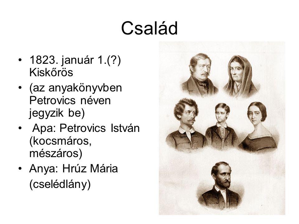 Család 1823. január 1.( ) Kiskőrös