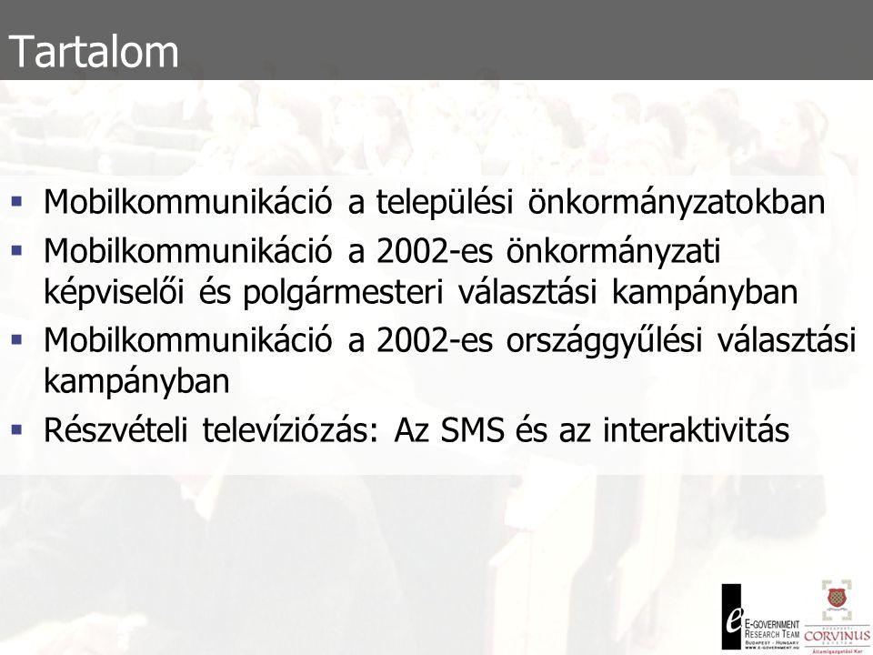 Tartalom Mobilkommunikáció a települési önkormányzatokban