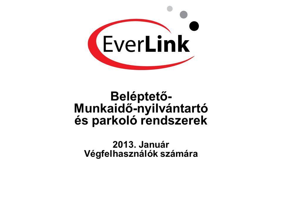 Beléptető- Munkaidő-nyilvántartó és parkoló rendszerek