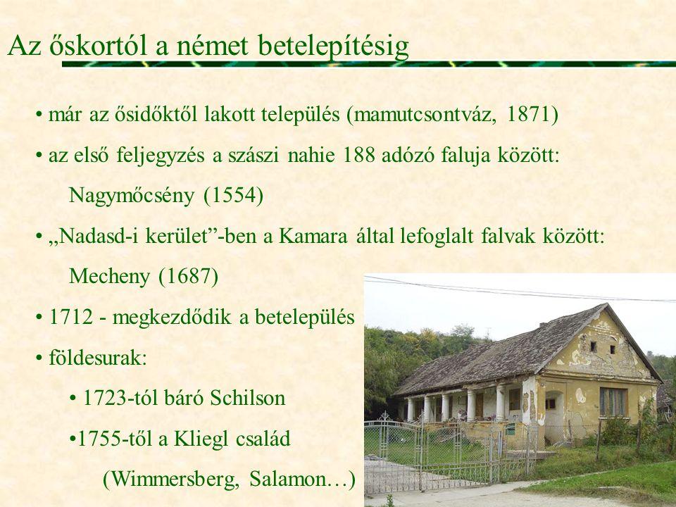 Az őskortól a német betelepítésig