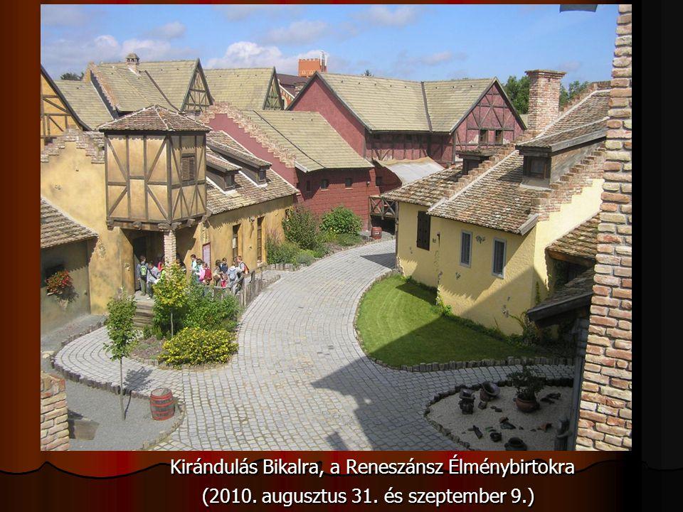 Kirándulás Bikalra, a Reneszánsz Élménybirtokra