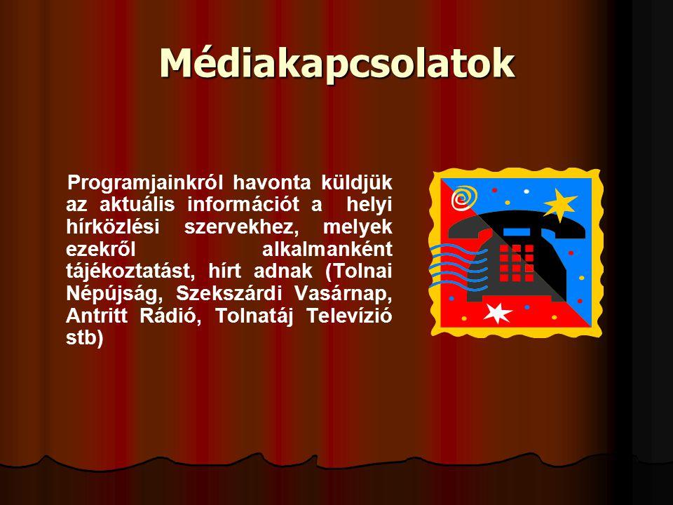 Médiakapcsolatok