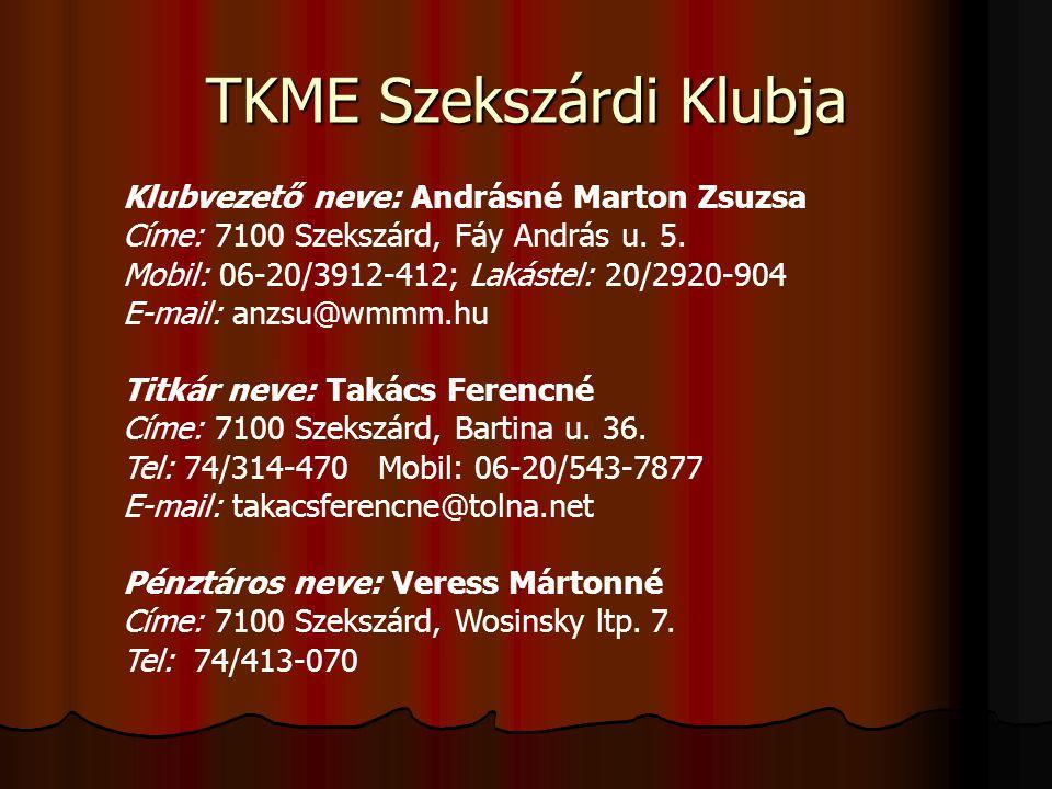 TKME Szekszárdi Klubja