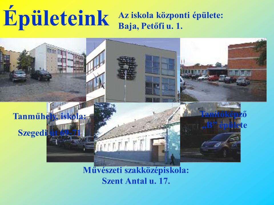 """Tanítóképző """"B épülete Művészeti szakközépiskola: Szent Antal u. 17."""