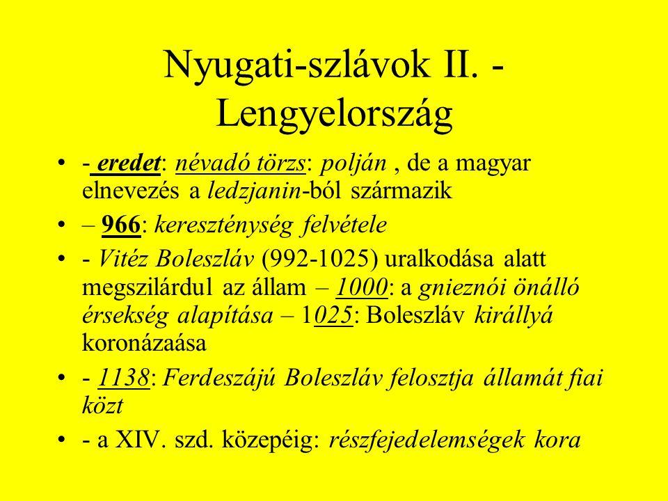 Nyugati-szlávok II. - Lengyelország