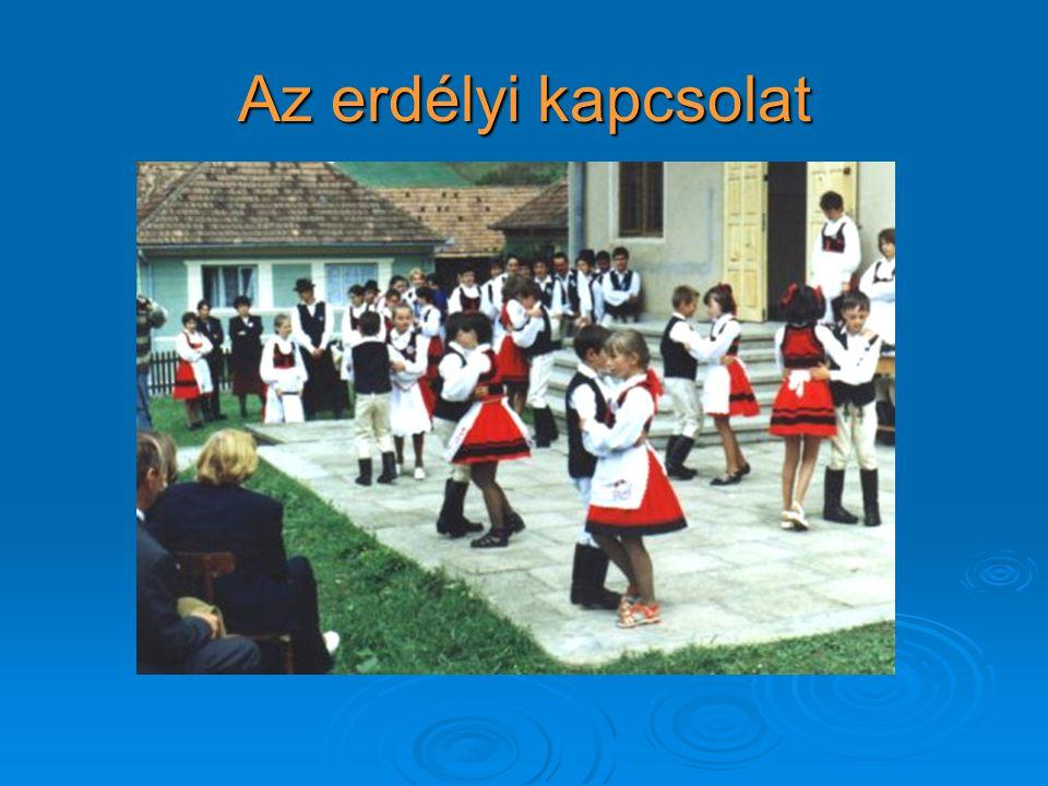 Az erdélyi kapcsolat