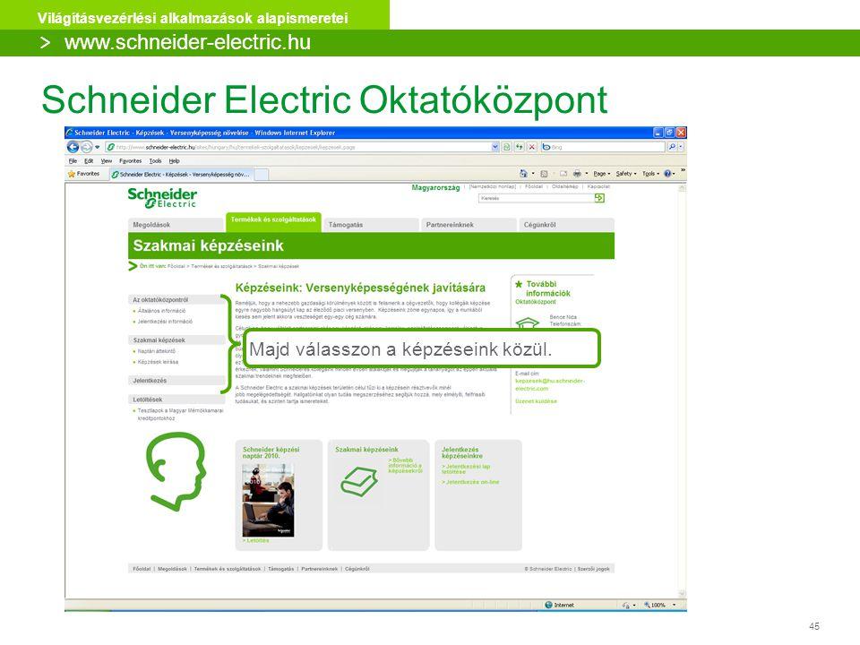 Schneider Electric Oktatóközpont