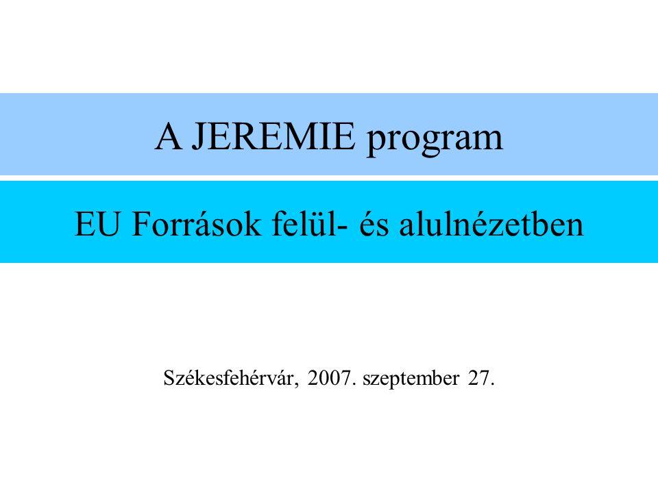 EU Források felül- és alulnézetben