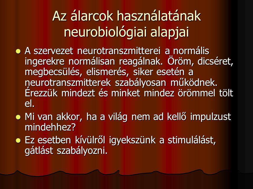Az álarcok használatának neurobiológiai alapjai