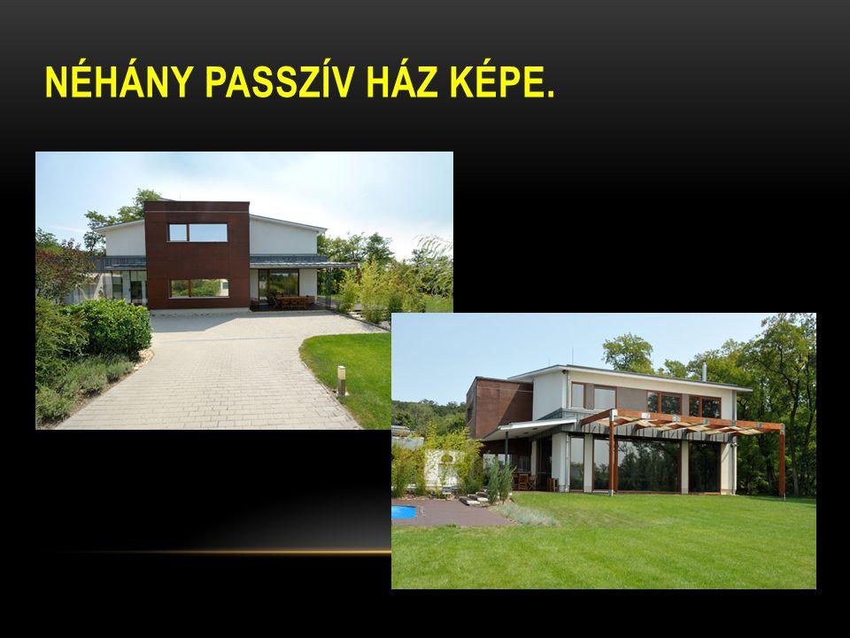 Néhány passzív ház képe.