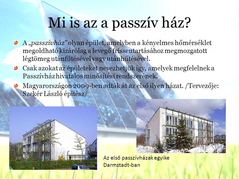 Mi is az a passzív ház