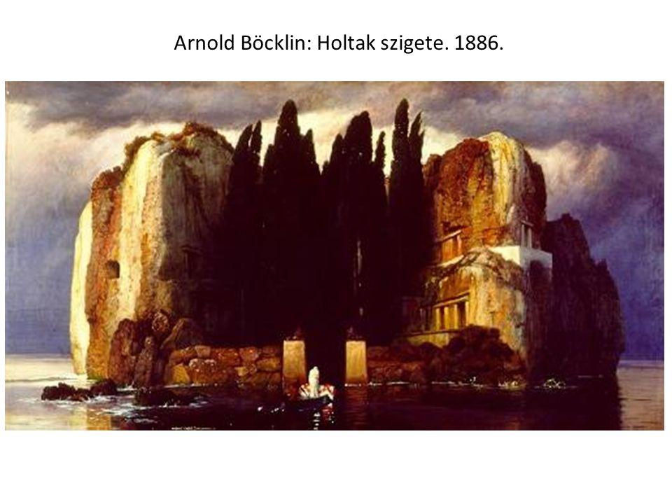 Arnold Böcklin: Holtak szigete. 1886.