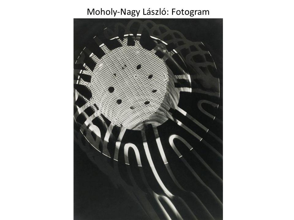 Moholy-Nagy László: Fotogram