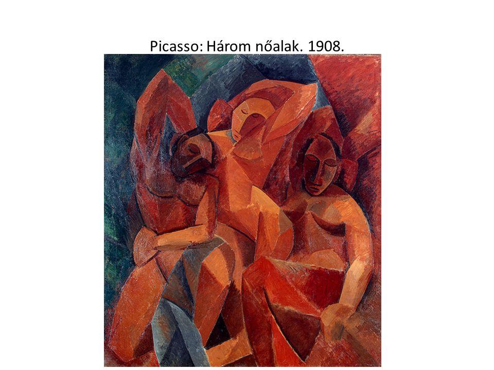 Picasso: Három nőalak. 1908.