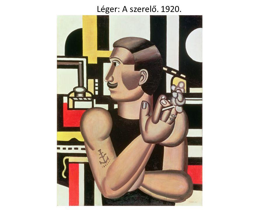 Léger: A szerelő. 1920.