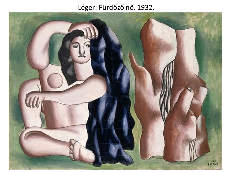 Léger: Fürdőző nő. 1932.