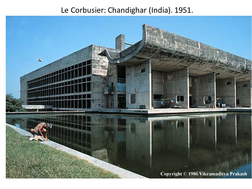 Le Corbusier: Chandighar (India)