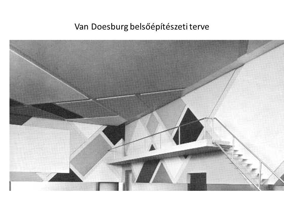 Van Doesburg belsőépítészeti terve