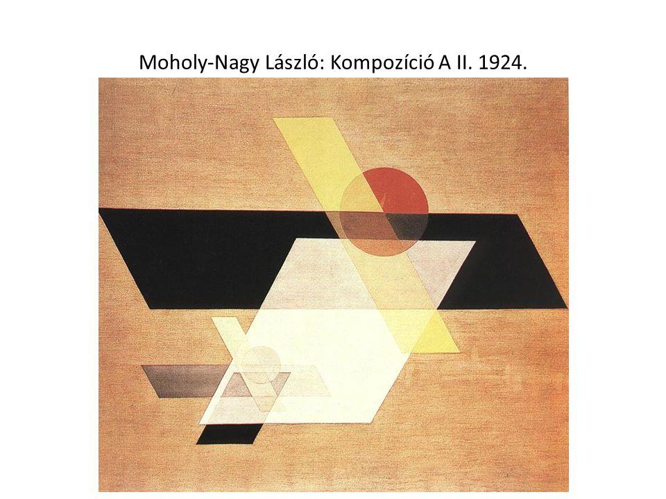 Moholy-Nagy László: Kompozíció A II. 1924.