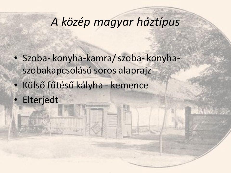 A közép magyar háztípus