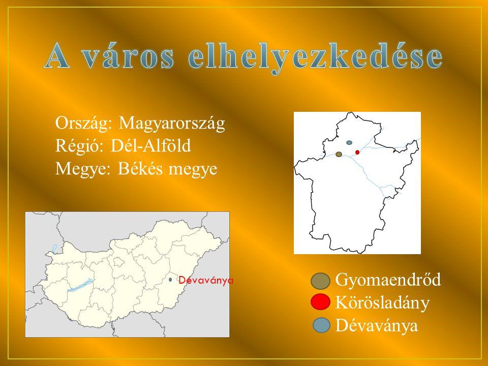 A város elhelyezkedése