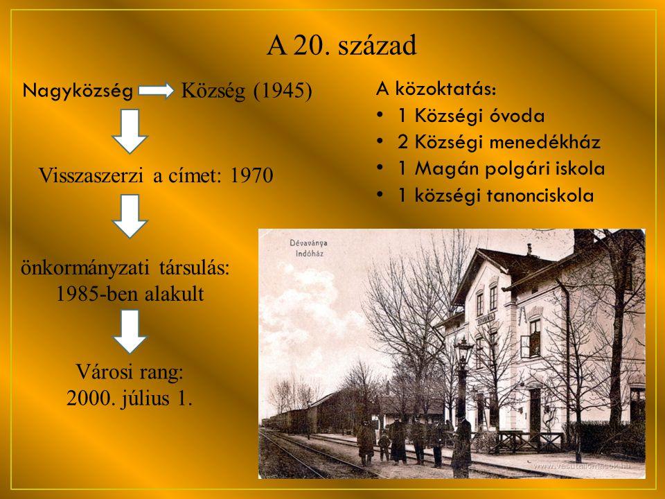 önkormányzati társulás: 1985-ben alakult