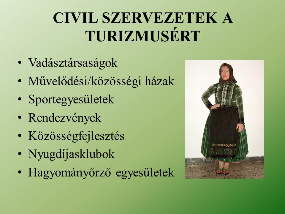 Civil szervezetek a turizmusért
