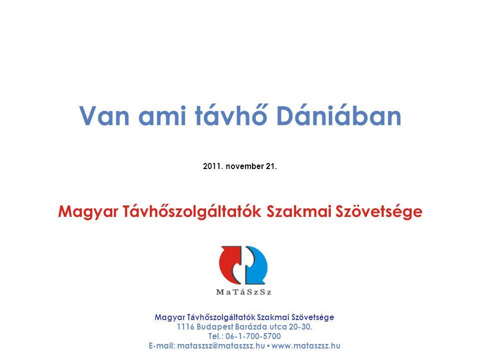 Van ami távhő Dániában 2011. november 21