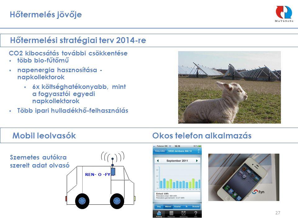Hőtermelési stratégiai terv 2014-re