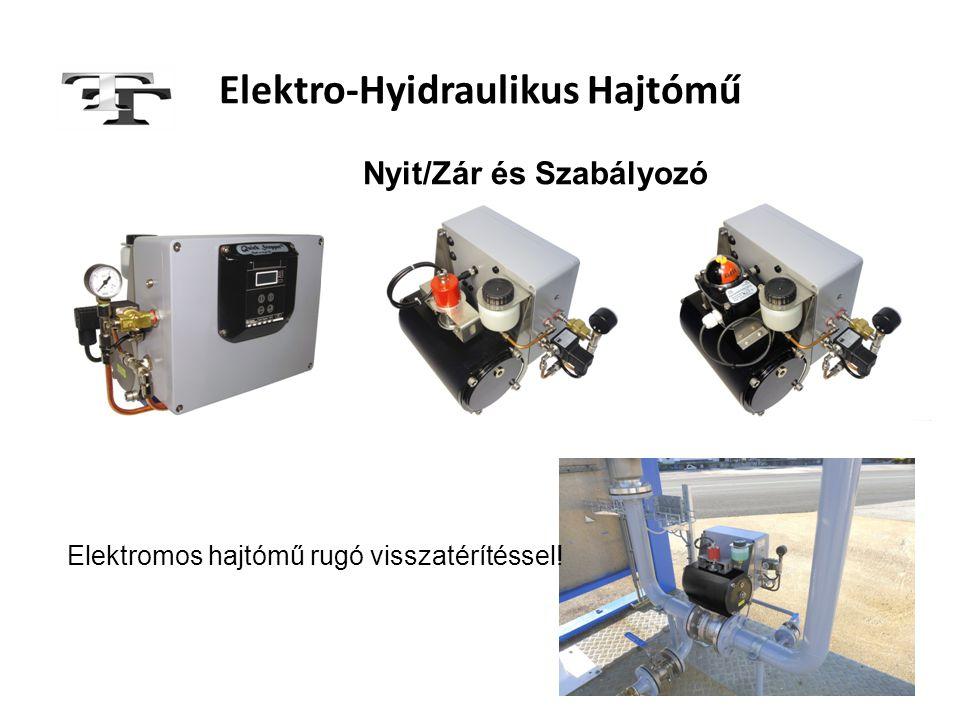 Elektro-Hyidraulikus Hajtómű