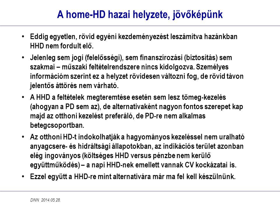 A home-HD hazai helyzete, jövőképünk