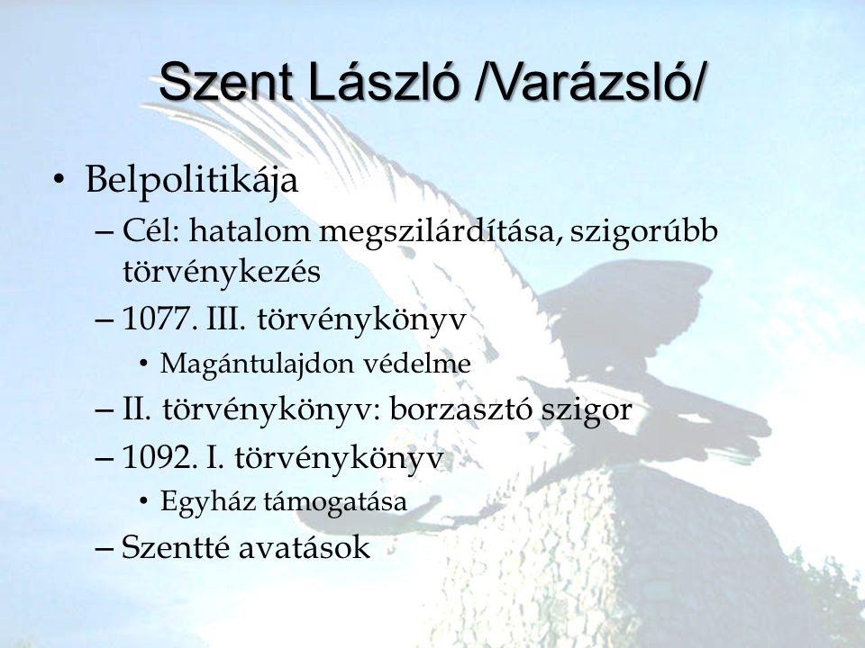 Szent László /Varázsló/