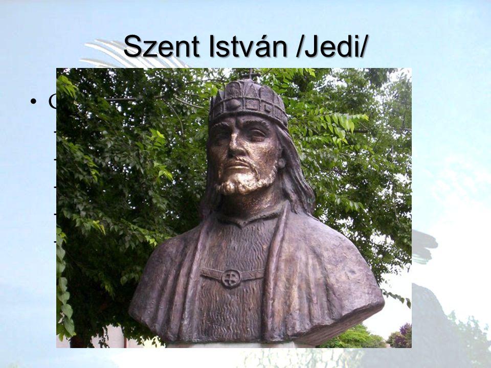 Szent István /Jedi/ Családja Géza, Sarolt 2 lánytestvér