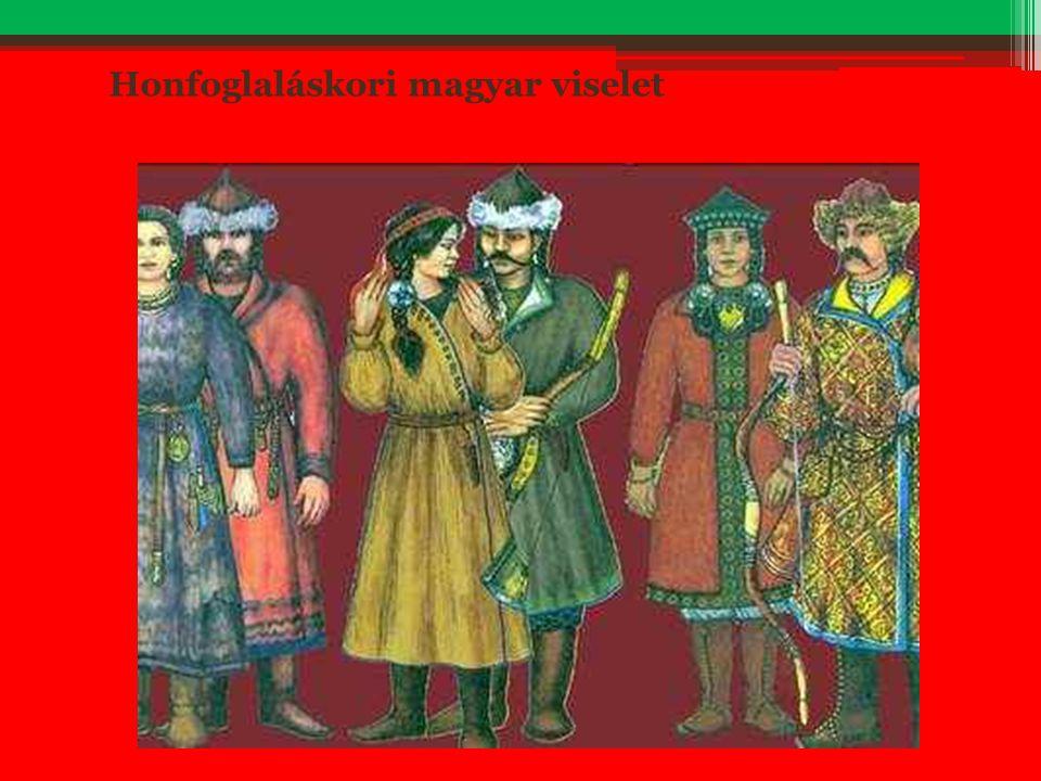 Honfoglaláskori magyar viselet