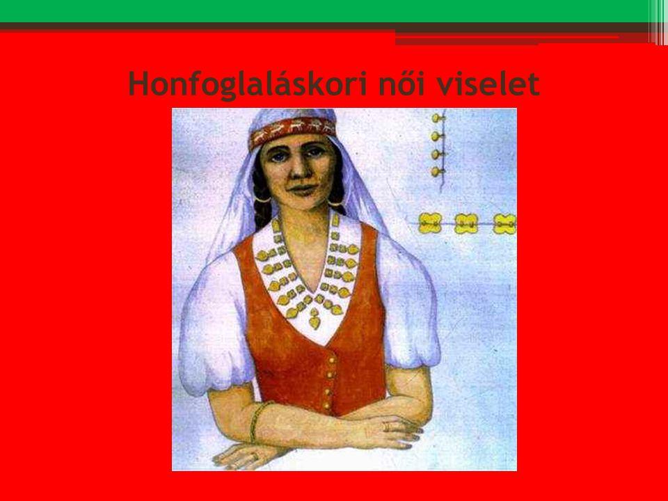 Honfoglaláskori női viselet