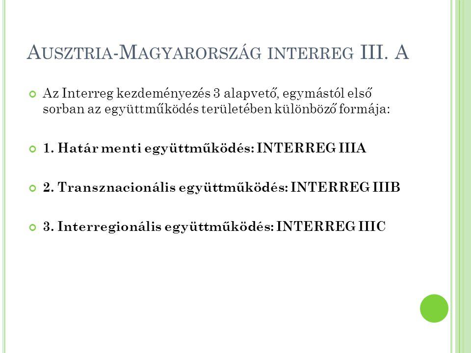 Ausztria-Magyarország interreg III. A