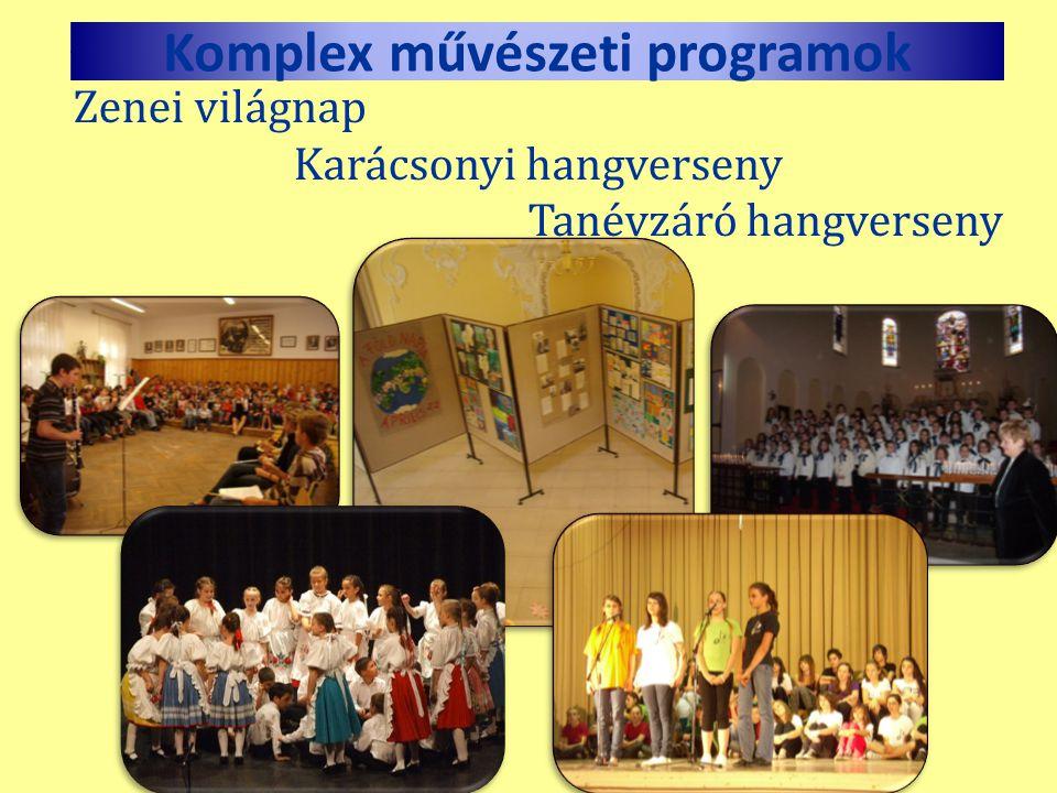 Komplex művészeti programok