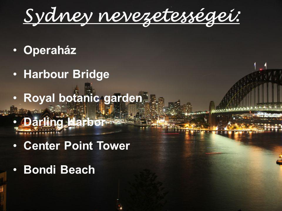 Sydney nevezetességei:
