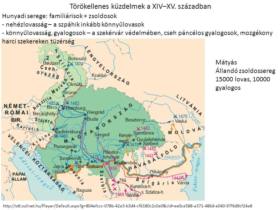 Törökellenes küzdelmek a XIV–XV. században