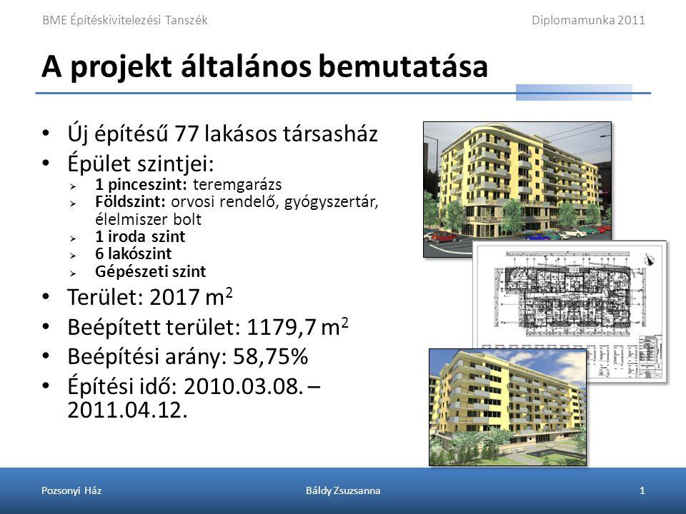 Az építési terület elhelyezkedése