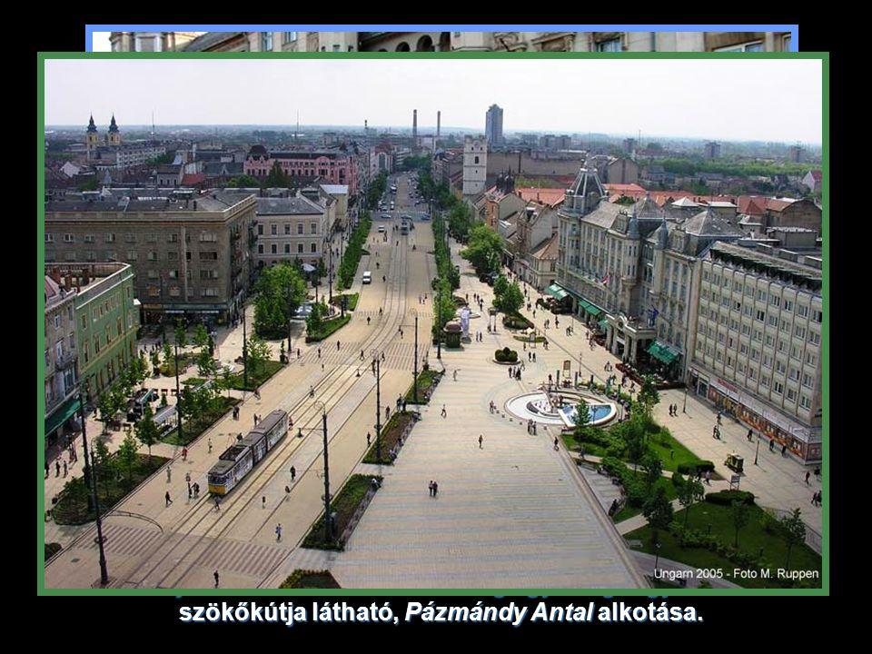 A Piac utca a Nagytemplomtól a Kis Templomig sétáló övezetté alakult.