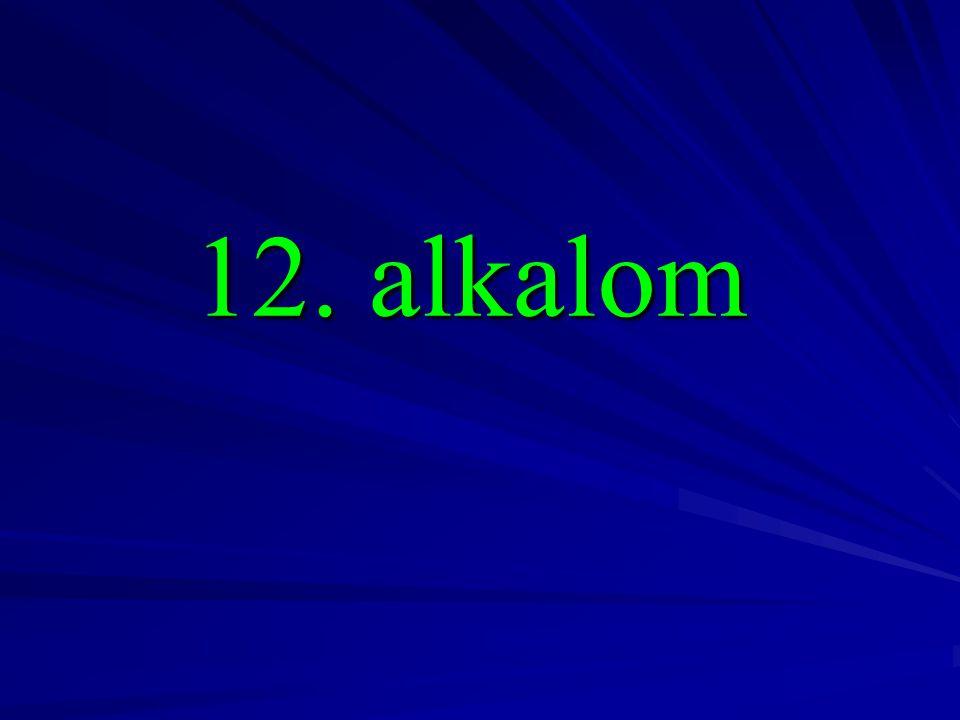 12. alkalom