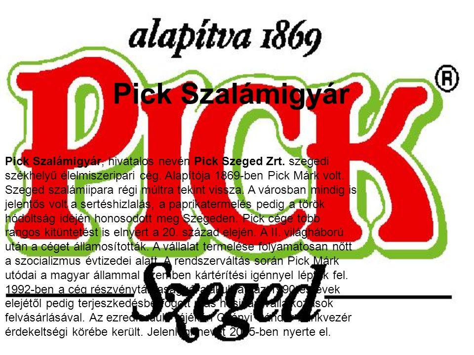 Pick Szalámigyár
