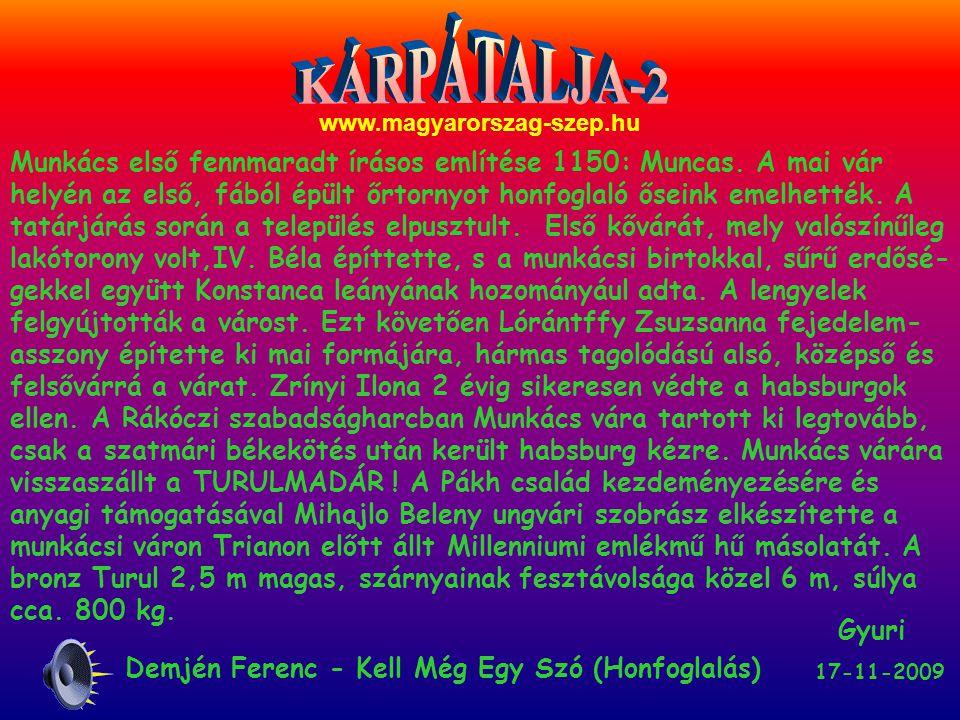 KÁRPÁTALJA-2 www.magyarorszag-szep.hu.