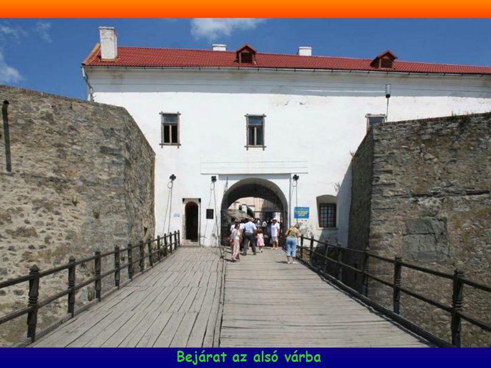 Bejárat az alsó várba