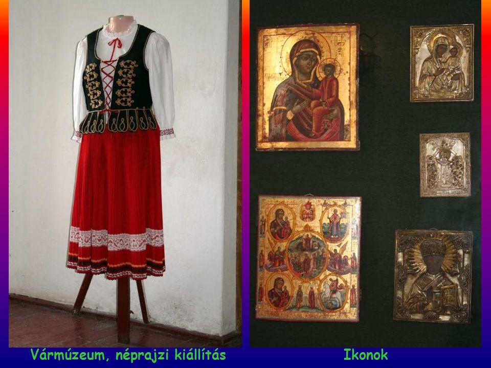 Vármúzeum, néprajzi kiállítás